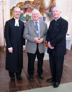 Tre präster som tjänstgjort i kyrkan