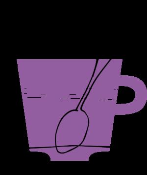 Illustration av en kaffekopp