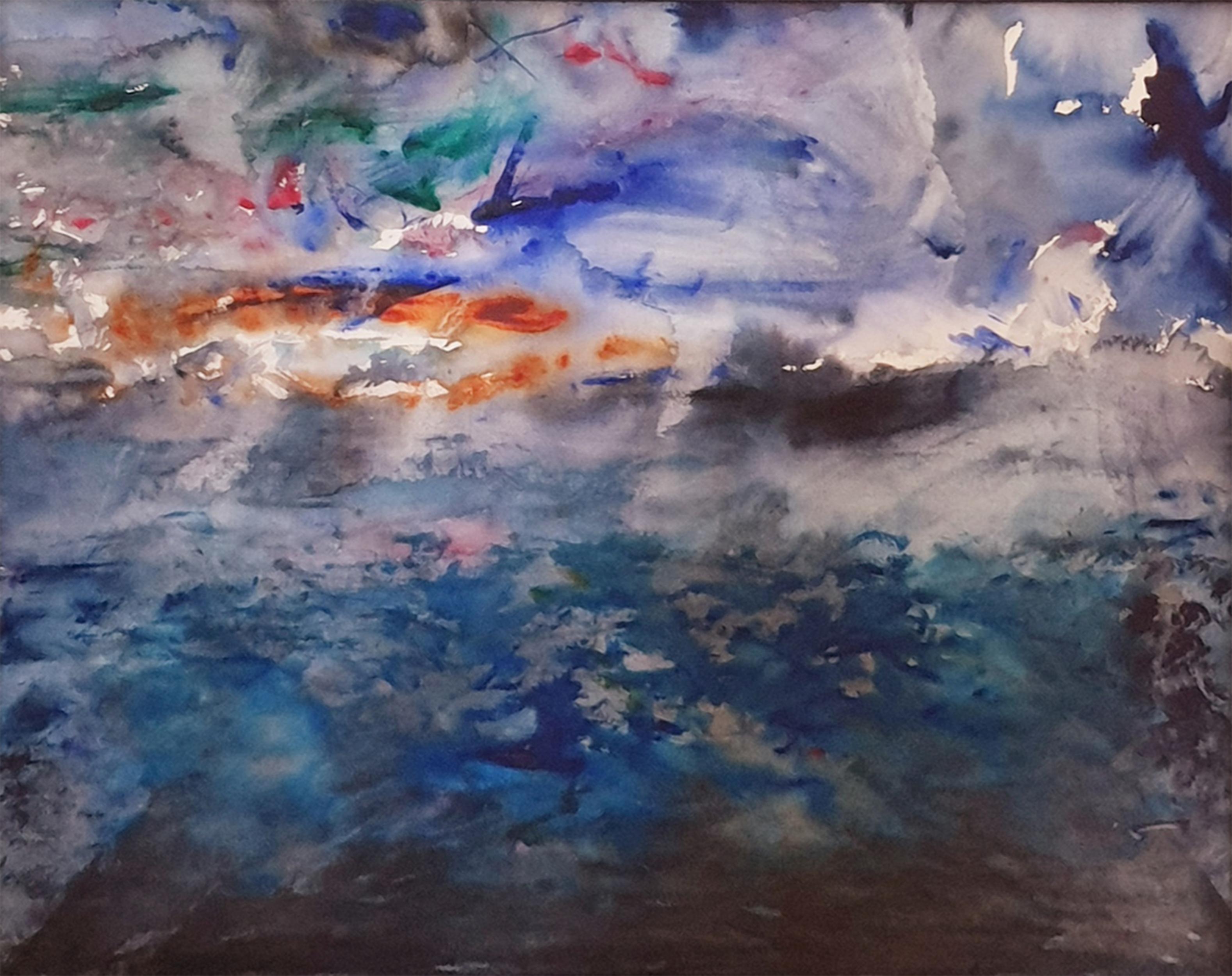 Abstrakt konstverk av Sven-Åke Johansson