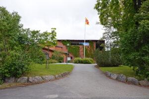 Adolfsbergs kyrkas entré