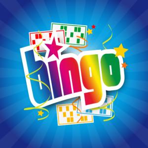 """Ordet """"Bingo"""" i en färgstark grafik"""