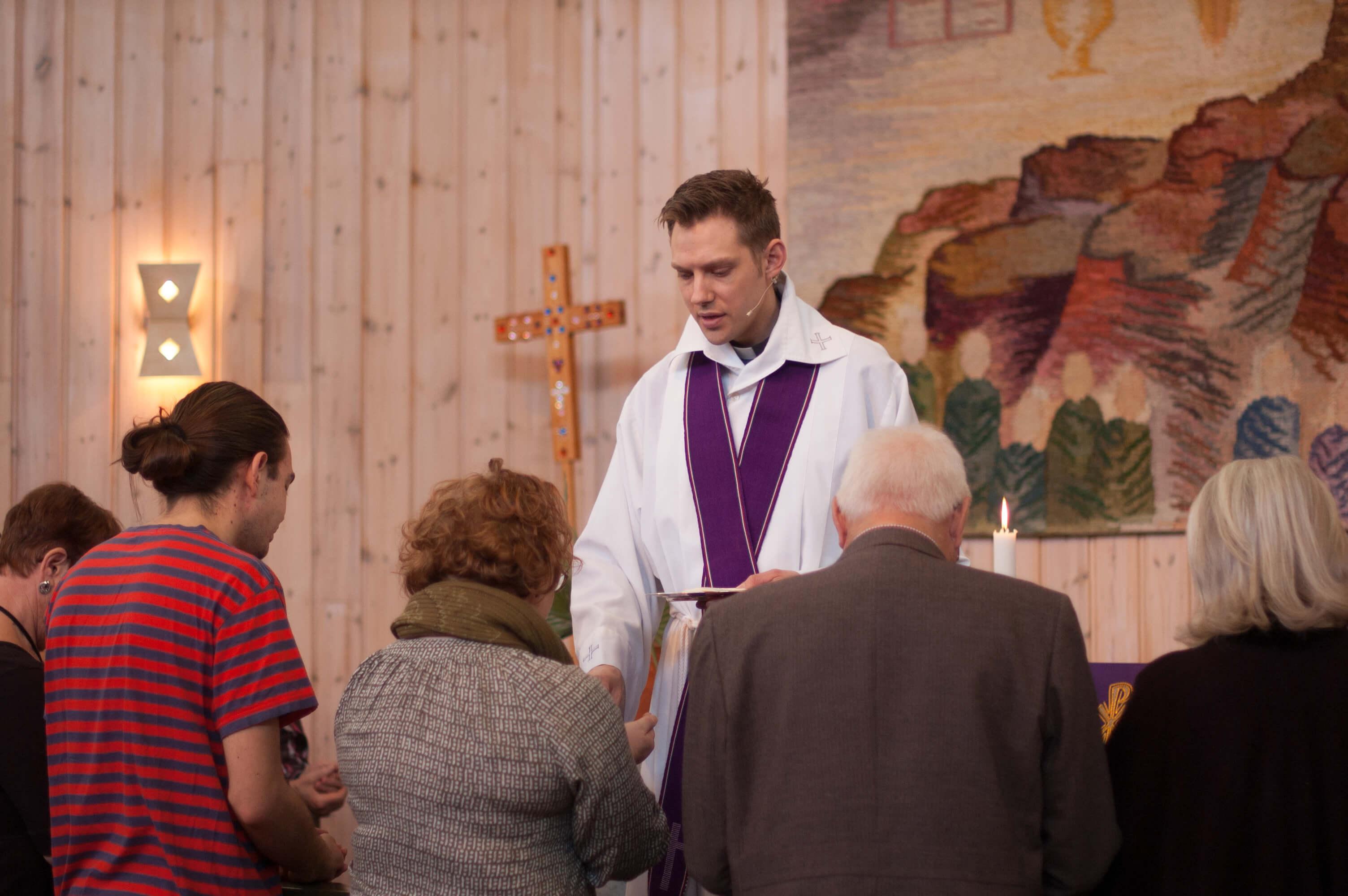 Nattvard i Sörbykyrkan