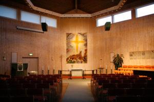 Sörbykyrkan kyrksalen