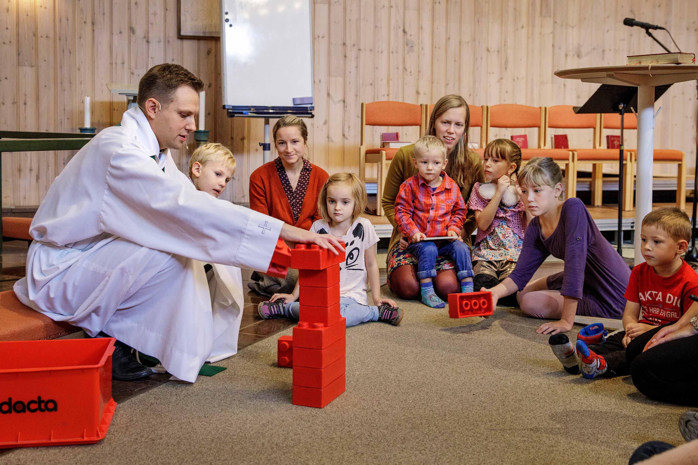 Barnens minuter i gudstjänsten