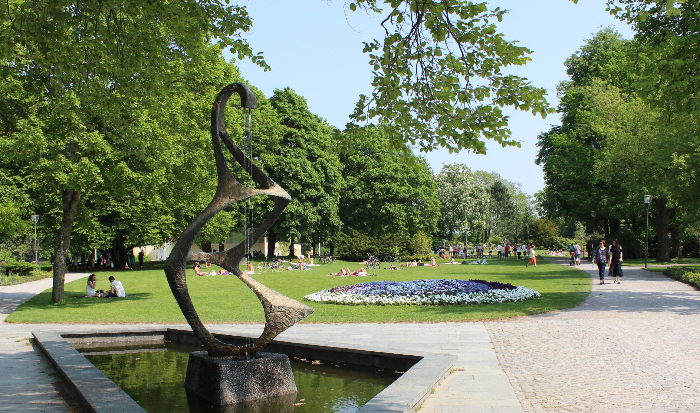 Stadsparken i Örebro