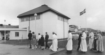 Invigning av kyrkan