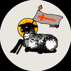Illustration av Guds lamm