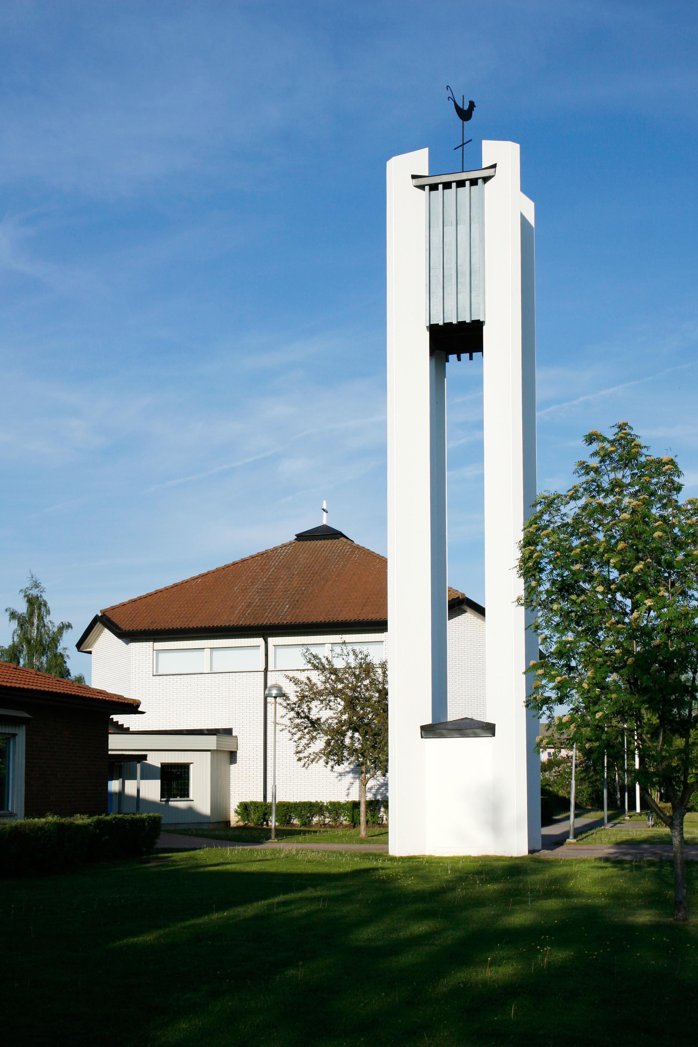 Sörbykyrkans exteriör